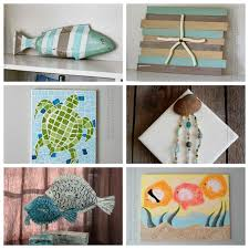 Small Picture Beach Craft Ideas 35 beach crafts for adults and kids