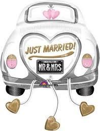Gesamtanzahl ausmalbilder in allen kategorien: Witziger Folienballon Fur Frisch Verheiratete Paare Ballon Hochzeit Wedding Deko Galaxus Just Married Wedding Balloons Wedding Congratulations Quotes