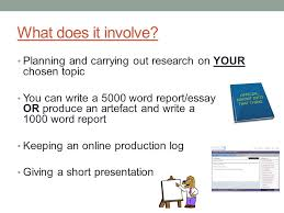 introduction to level epq aqa y what is the epq a research  3 what