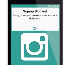 fix insram signup blocked