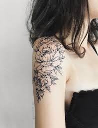Pin by Ashley Behr on Tattoo | Quarter sleeve tattoos, Floral tattoo  sleeve, Floral tattoo shoulder