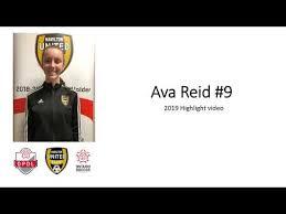 Ava Reid - 2019 Soccer Highlight Video - YouTube