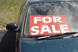 How To Use A Window Sign To Sell Your Car