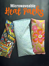 microwaveable heat packs diy on a dime life as mom