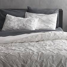 melyssa white fullqueen duvet cover cb2 for amazing residence duvet covers queen remodel
