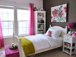 interior design ideas bedroom teenage girls. Femininenk Bedroom Design Ideas With Decorative Floral Room For Rectangular And Two Windows Teen Girl Cosy Desk Stool Twin Plus Open Shelf Underneath In Interior Teenage Girls E