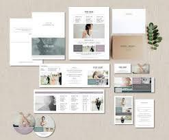 Wedding Photographer Marketing Set Photo Business Cards