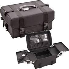 sunrise c3022 soft side1680d nylon makeup train case as top of c6024