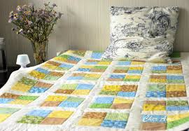 how to sew a patchwork quilt for beginners tutorial