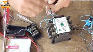 single phase motor contactor wiring diagram by mehboob electric diy single phase motor contactor wiring diagram by mehboob electric diy