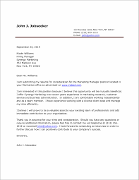 Printable Cover Letter Examples Cover Letter Resume Examples