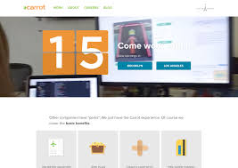 awesome career page examples recruiting software carrot creative career page