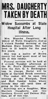 Blanche Daugherty obituary, May 1947 - Newspapers.com