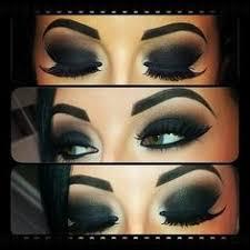 smokey eye makeup arabic