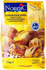 Купить <b>Мука Nordic Пшеничная</b> высший сорт 2кг с доставкой на ...