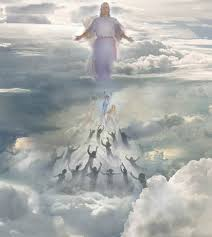 Image result for pictures of the rapture of the saints