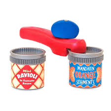 Melissa And Doug Retro Kitchen Melissa Doug Can Opener And 2 Resealable Cans Play Kitchen