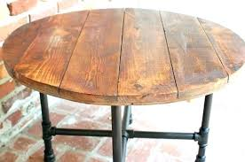 inch 30 round metal patio table 3 30