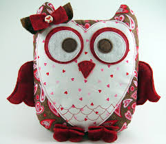 Owl Pillow Pattern Sweetheart Owl Pillow Pattern Plush Sewing Tutorial