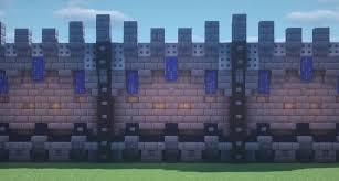 minecraft wall designs minecraft