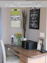 Kitchen Wall Organization Organizing A Kitchen Command Center Clean And Scentsible