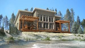 Beaver Homes and Cottages   Petit SoleilExterior Rendering Exterior Rendering  Petit Soleil Floor Plan