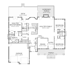 The House Designers Home Plans Carolina Cottage 6123 4 Bedrooms And 2 5 Baths The House