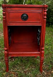 End Table Paint Ideas Best 25 Red Painted Furniture Ideas On Pinterest Red Painted