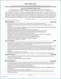 Sample Resume Cover Letter Property Management Property Management