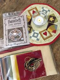 Quilt Blocks Candle Mat &  Adamdwight.com