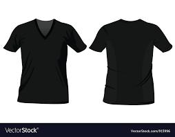 Tee Shirts Templates T Shirt Templates Royalty Free Vector Image Vectorstock