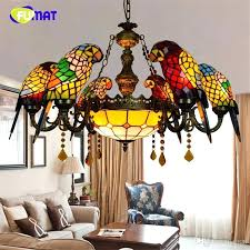 stained glass pendants lighting