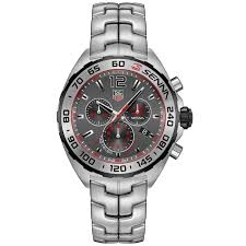 tag heuer formula 1 anthracite red accents steel 43 mm tag heuer caz1012 ba0883