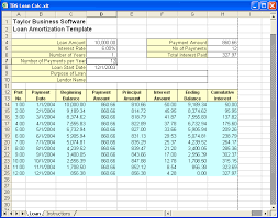 Loan Schedule Excel Template Mortgage Amortization Schedule Excel Template Rome