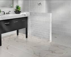 Modern White Glass Bathroom Tiles M In Simple Design