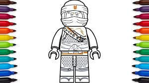 How to draw Lego Cole from Ninjago: Hunted - Season 9 - YouTube