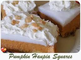 pumpkin dessert pumpkin haupia squares ono kine recipeshawaiian