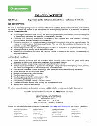 Dental Manager Resume Free Resume Templates