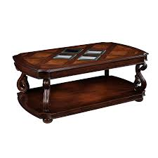 cherry coffee table. Magnussen Home Harcourt Cherry Coffee Table