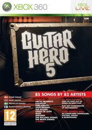 Guitar Hero 5 RGH + DLC Xbox 360 Español 4.7gb [Mega+] Xbox Ps3 Pc Xbox360 Wii Nintendo Mac Linux