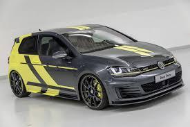 Volkswagen Golf GTI Dark Shine concept 2.0 395 HP | Volkswagen ...