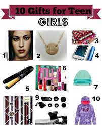 Christmas  Holiday Gift Ideas For Teen Girls Under Or I Love All Christmas Gifts For Teenage Girl