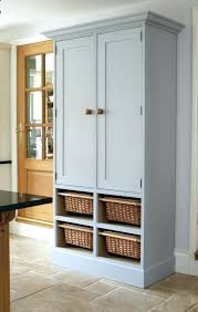 freestanding pantry plans modern free standing kitchen pantry diy