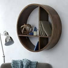 round wall shelf wood corner wall shelves wood round wall shelf