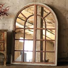 large arched mirror. Arched Window Mirror Large E