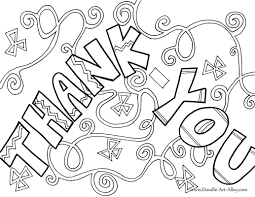 Small Picture Greeting Card Coloring Pages Doodle Art Alley And Thank You diaetme
