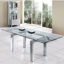 extendable glass dining table canada extendable glass dining table and 6 chairs