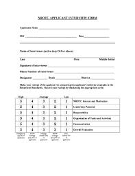 interview assessment form template interview assessment form for managerial position templates