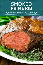 smoked prime rib dinner at the zoo