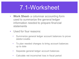 Worksheet For A Service Business - Ppt Video Online Download